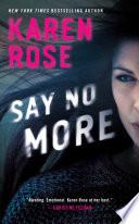 Say No More Book PDF