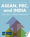 Asean Prc And India book