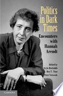 Politics in Dark Times Book PDF