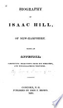 Proceedings at the Dinner to Honorable Isaac Hill  at the Eagle Coffee House  Concord  N H   August 8  1832