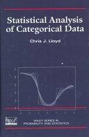 Statistical Analysis of Categorical Data