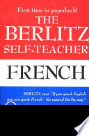 The Berlitz Self teacher  French