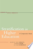 Stratification in Higher Education