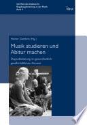 Musik studieren und Abitur machen
