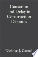Causation and Delay in Construction Disputes