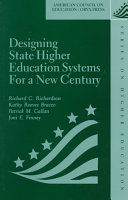 Designing State Higher Education Systems for a New Century