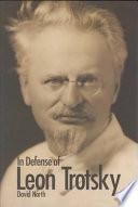 In Defense Of Leon Trotsky