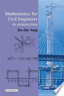 Mathematics For Civil Engineers