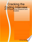Cracking the Coding Interview  60 C Programming Questions and Answers