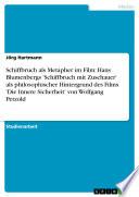 Schiffbruch als Metapher im Film: Hans Blumenbergs 'Schiffbruch mit Zuschauer' als philosophischer Hintergrund des Films 'Die Innere Sicherheit' von Wolfgang Petzold