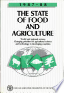 The State of Food and Agriculture 1987 88