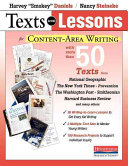 Texts and Lessons for Content Area Writing