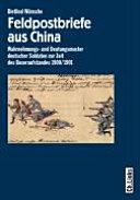 Feldpostbriefe aus China