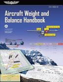 Aircraft Weight and Balance Handbook  eBundle Edition
