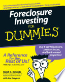Foreclosure Investing For Dummies