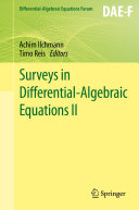 download ebook surveys in differential-algebraic equations ii pdf epub