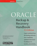 Oracle Backup   Recovery Handbook