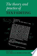 The Theory And Practice Of Text Editing