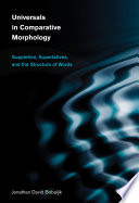Universals in Comparative Morphology