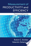 Measurement of Productivity and Efficiency