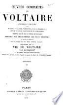 Oeuvres complètes de Voltaire: Mélanges. 1879-80