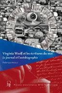 Virginia Woolf et les écritures du moi