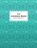 Large Office Desk Address Book