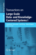 Transactions On Large Scale Data And Knowledge Centered Systems I