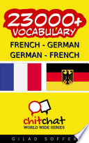 23000  French   German German   French Vocabulary