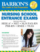 Barron s Nursing School Entrance Exams  5th edition