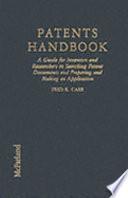 Patents Handbook