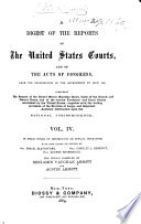 A Digest of the Reports of the United States Courts  and of the Acts of Congress