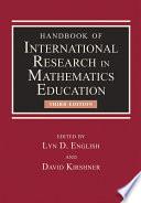 Handbook of International Research in Mathematics Education