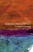 Sociolinguistics  A Very Short Introduction