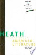 The Heath Anthology of American Literature, Volume C