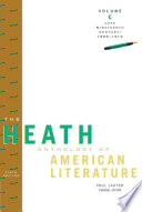The Heath Anthology of American Literature  Volume C