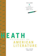 The Heath Anthology of American Literature, Volume C