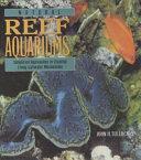 Natural reef aquariums