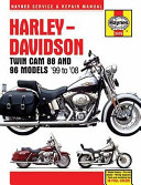 Harley-Davidson Twin Cam 88 and 96 Service and Repair Manual