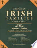 The Book of Irish Families  Great   Small