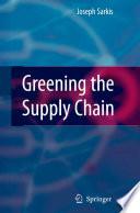 Greening the Supply Chain