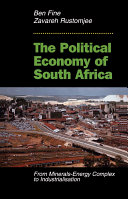 The Political Economy Of South Africa Book