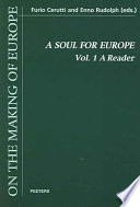 A Soul for Europe  A reader