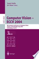 Computer Vision Eccv 2004 book