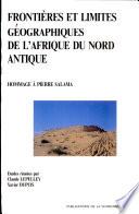 illustration Frontières et limites géographiques de l'Afrique du Nord antique