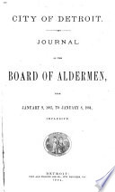 Journal of the Common Council of the City of Detroit