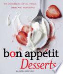Book Bon Appetit Desserts