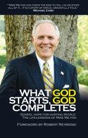 What God Starts, God Completes