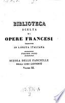 La scuola delle fanciulle nella loro gioventu  Trad  da una dama Romana  1  ed  Milanese