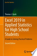 Excel 2019 In Applied Statistics For High School Students